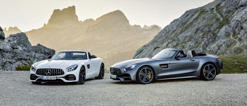 Furiously fast, the Mercedes-AMG GT C Roadster cuts the roof not performance