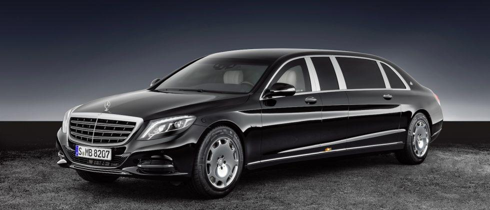 Mercedes-Maybach's latest is a limo for paranoid pampered plutocrats
