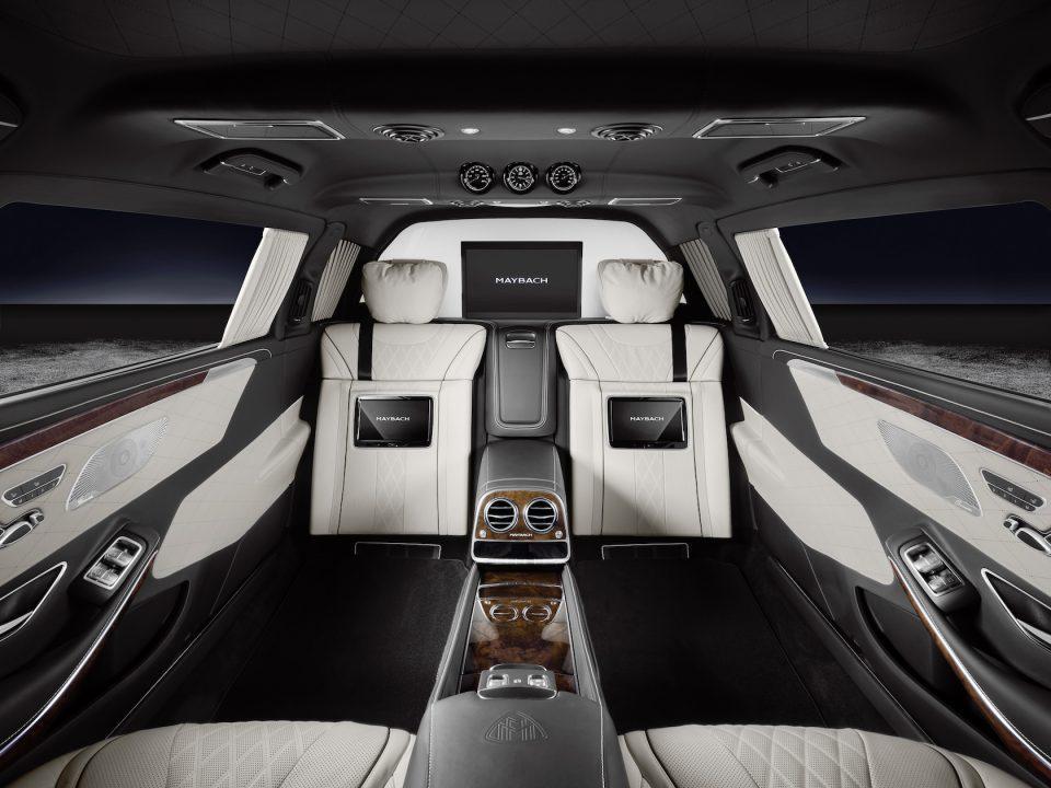 Mercedes-Maybach S 600 Pullman Guard.