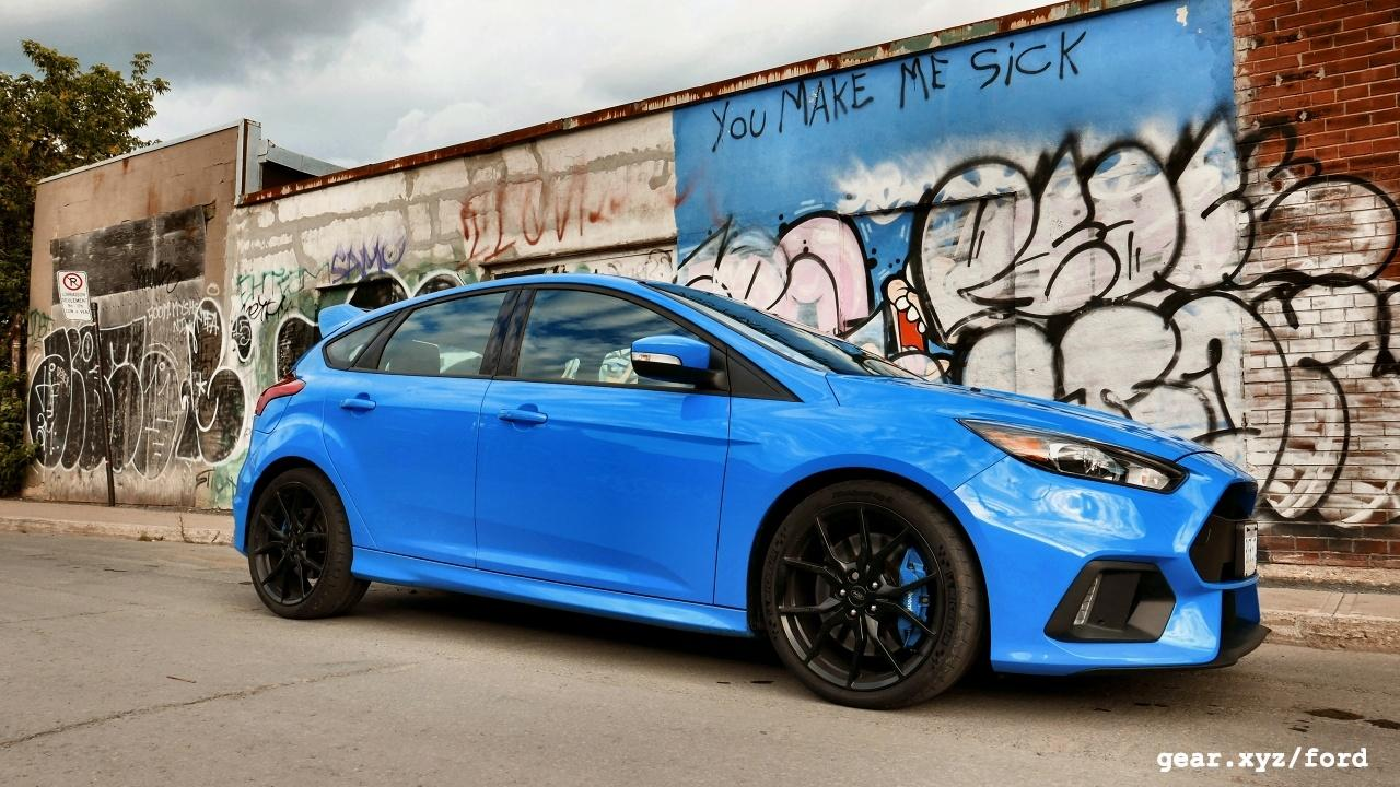 The 2016 Ford Focus RS takes on 3 Rivals in High Performance