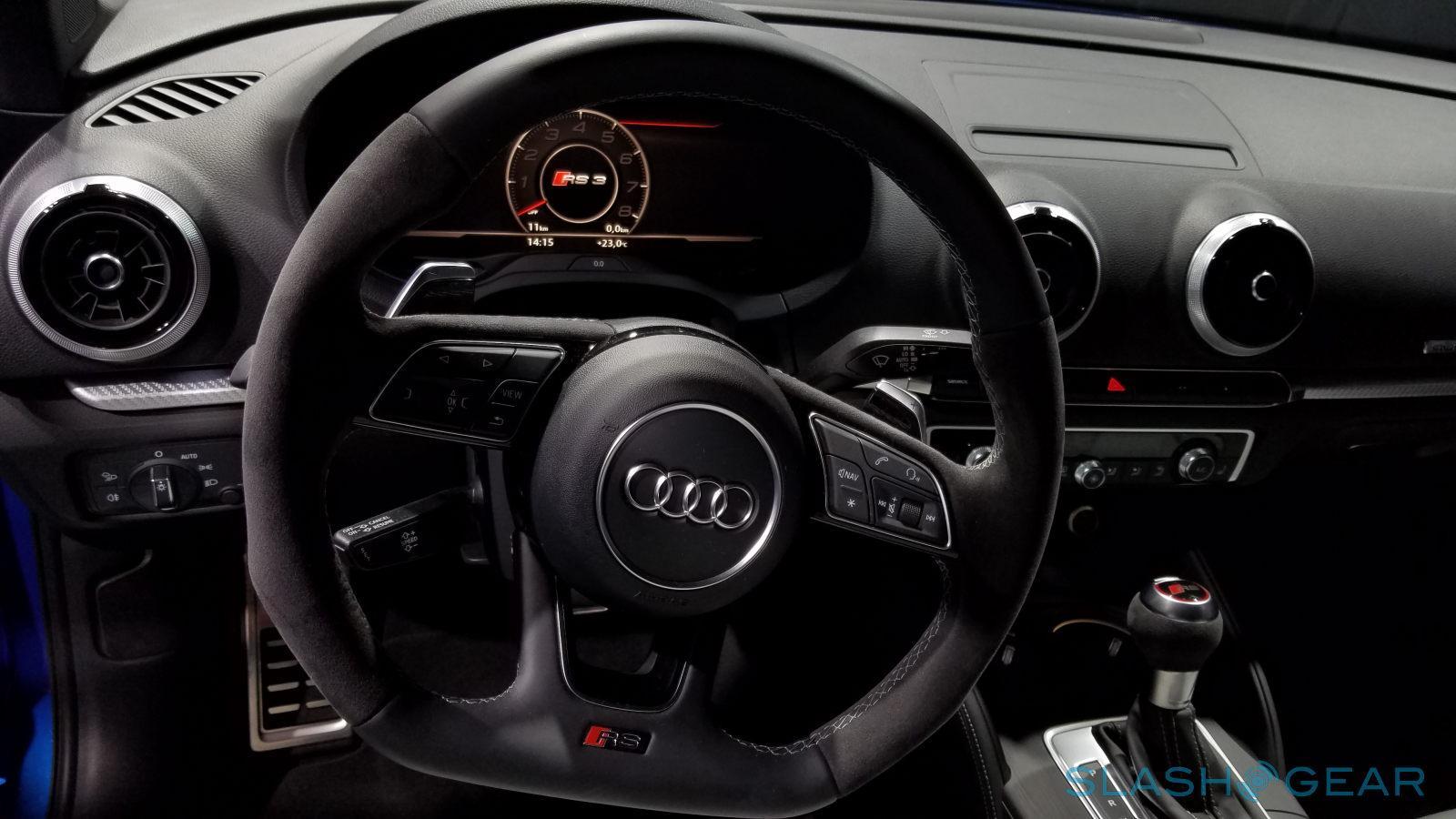 Audi Rs 3 Sedan Customer Race Car Break Cover In Paris Slashgear
