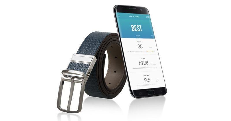 Samsung C-Labs' Welt smart belt goes live on Kickstarter