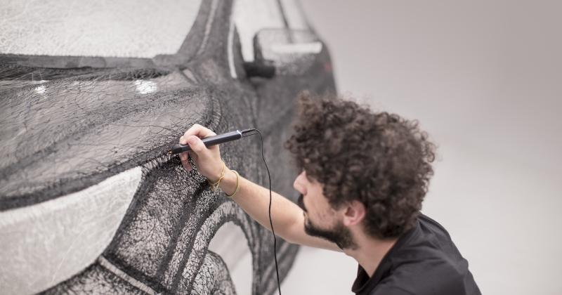 3Doodler PRO gets into serious, professional business