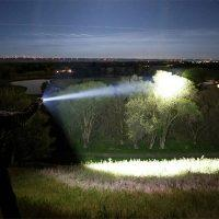 DIY liquid cooled 72k lumen LED flashlight will melt your soul