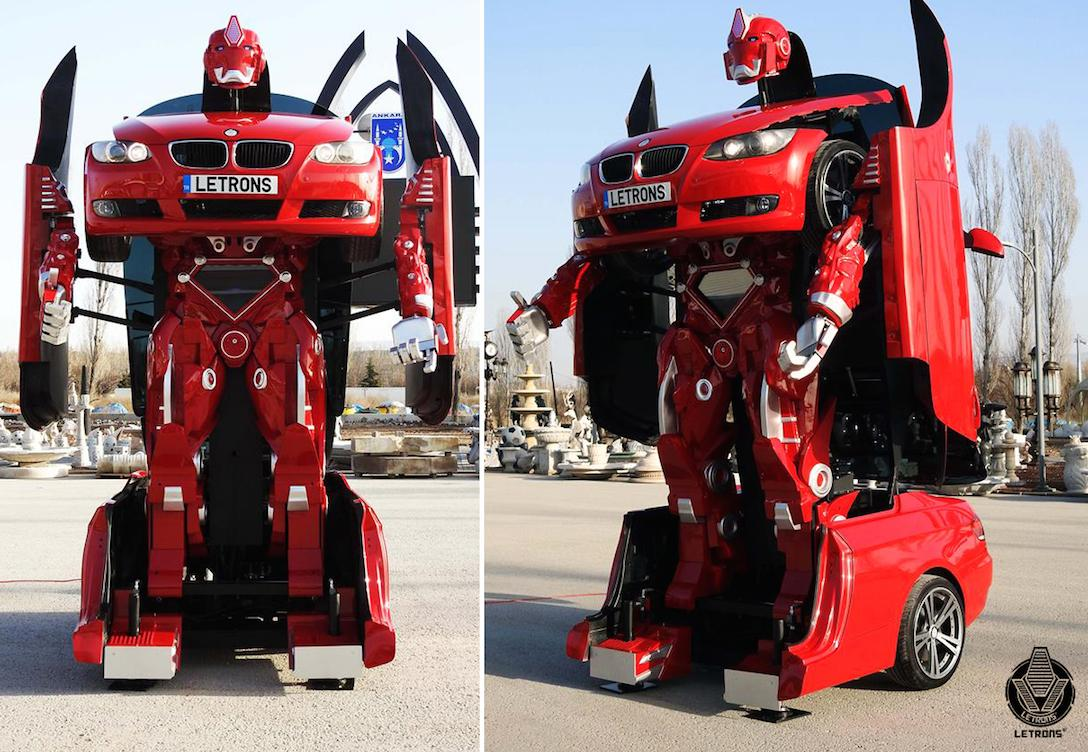 Now you can buy an actual, real car-sized transformer