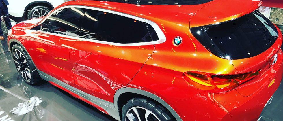 This is the BMW Concept X2