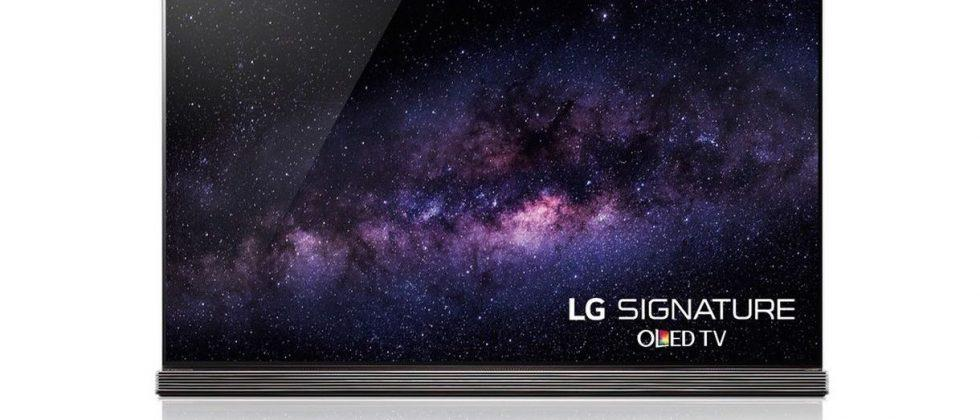 LG's new 77-inch 4K OLED TV available for pre-order