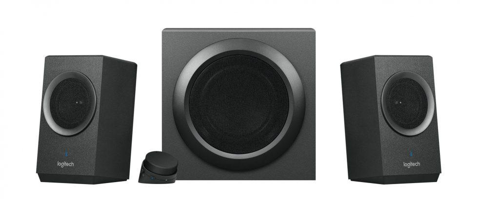 Logitech Z337 Bold Sound is a desktop speaker with Bluetooth