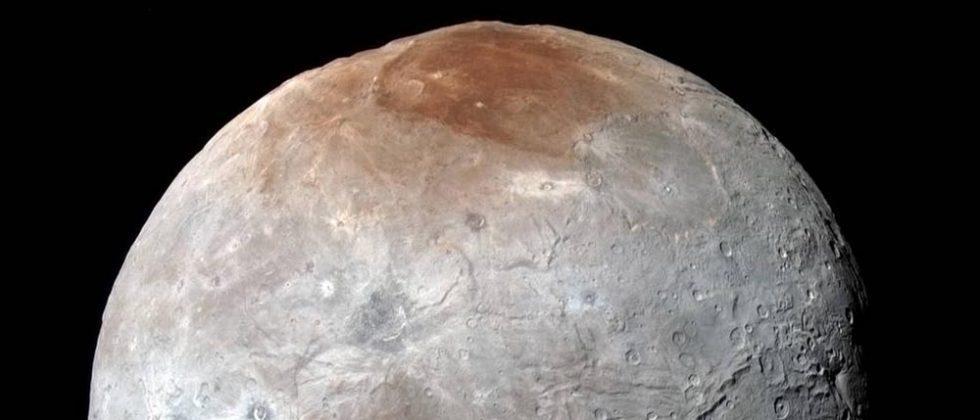 NASA: Charon's red spot comes from 'graffiti artist' Pluto