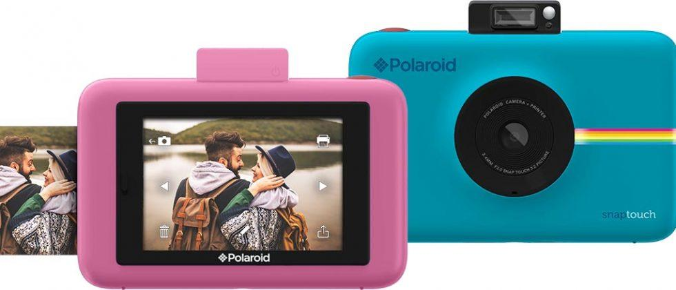 Polaroid Snap Touch instant camera boasts touchscreen