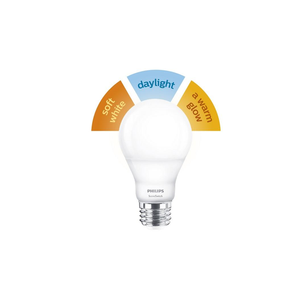 Philips Sceneswitch Bulb Offers Three Light Modes No Add