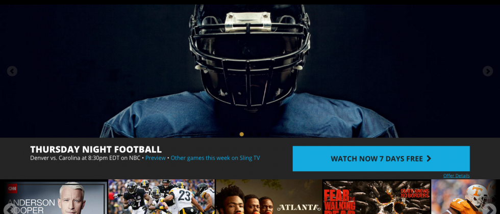 Sling TV Windows 10 app launches with Cortana, touch support and more