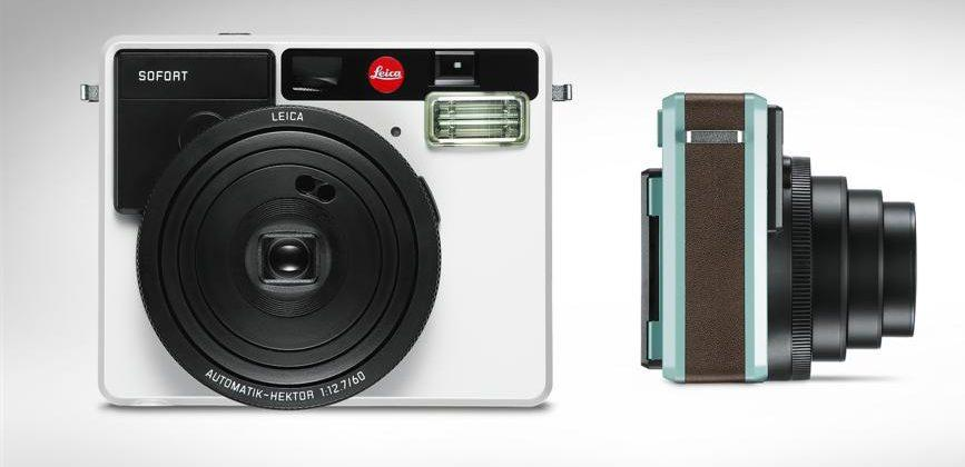 Leica enters instant film market with Sofort camera