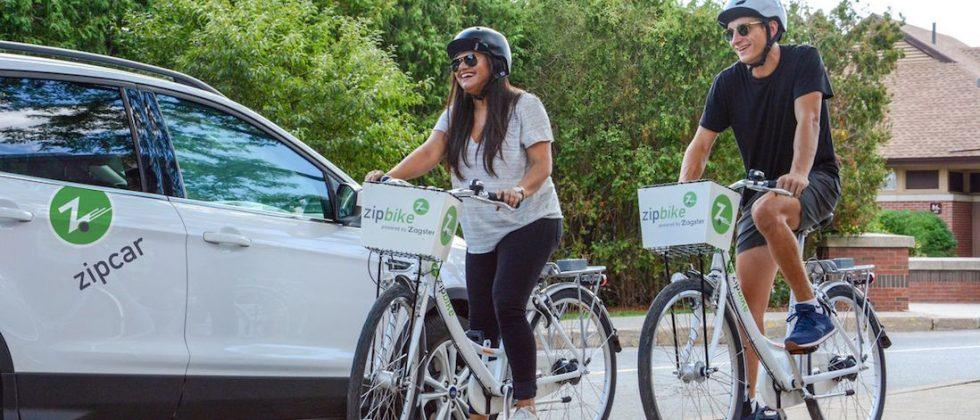 Car-sharing outfit Zipcar expands into bike-sharing