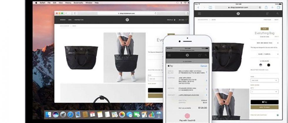 Apple Pay on the web rollout has started