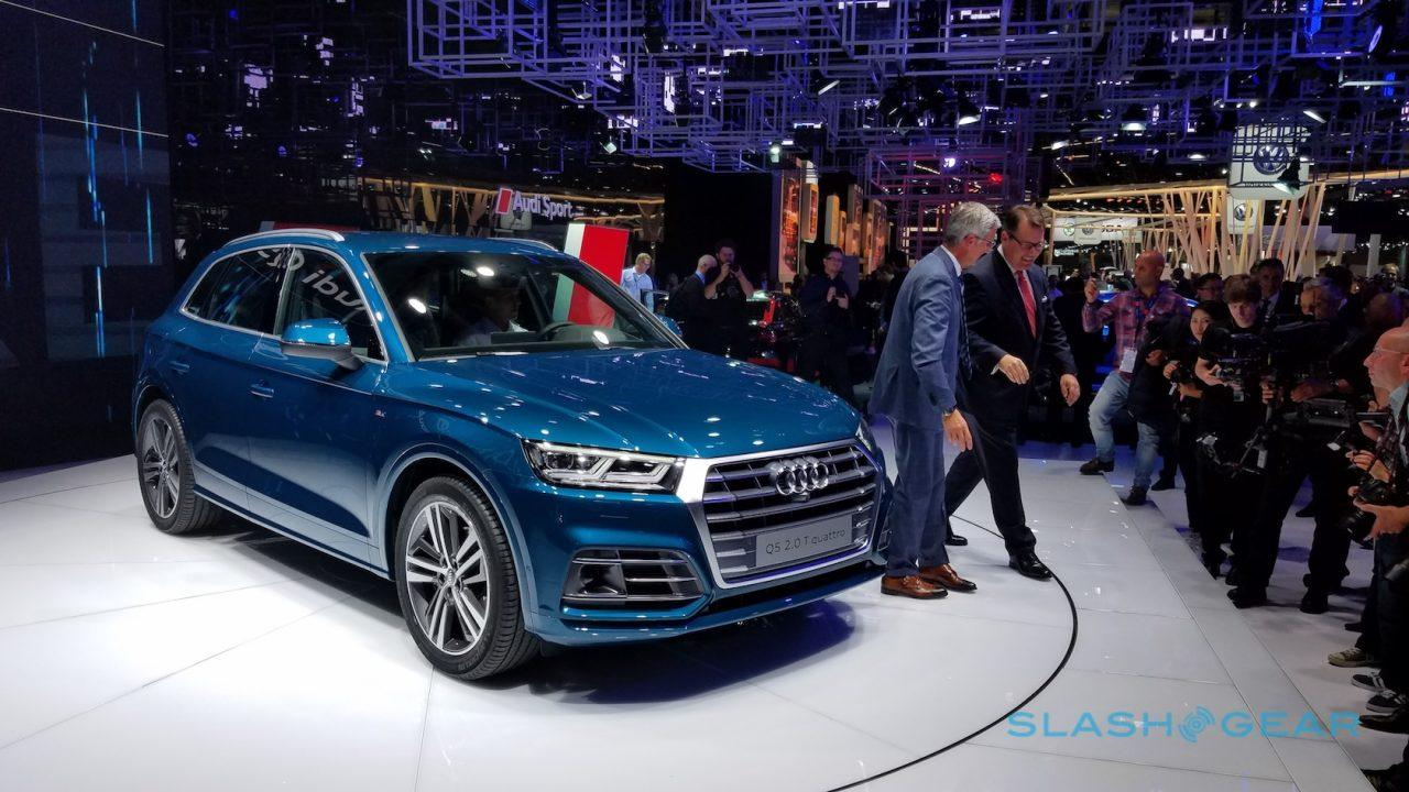 2018 Audi Q5 revealed with efficiency and tech upgrade - SlashGear