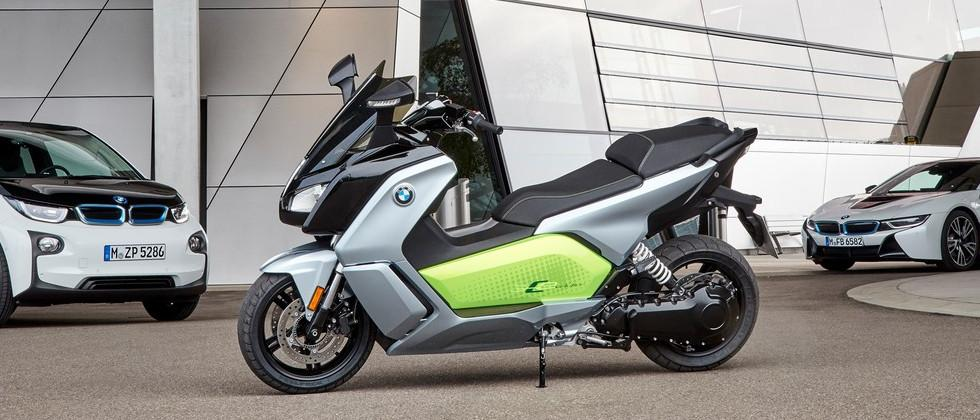 BMW C Evolution e-scooter refresh announced with two variants