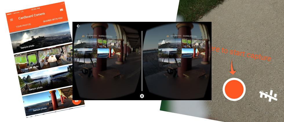 iOS Google Cardboard Camera: just in time for iPhone 7