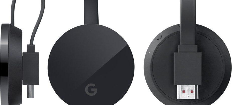 4K Chromecast Ultra says hello in leaked press image