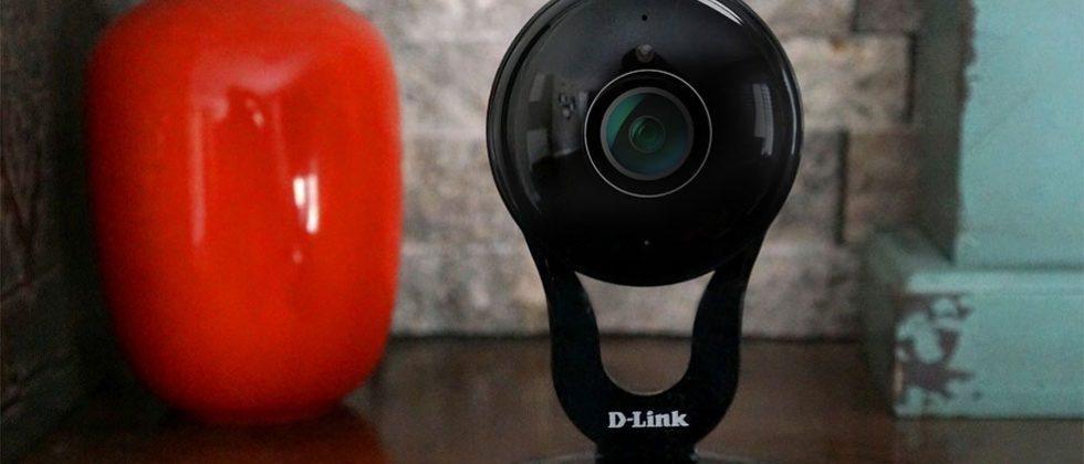 D-Link DCS-2530L WiFi camera has 180-degree lens and de-warping tech
