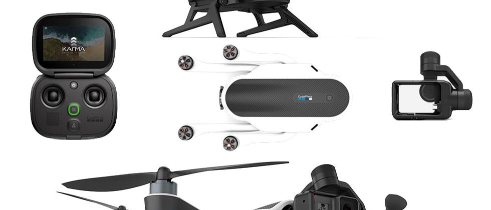 GoPro Karma drone price and release specs fold, connect, and collaborate