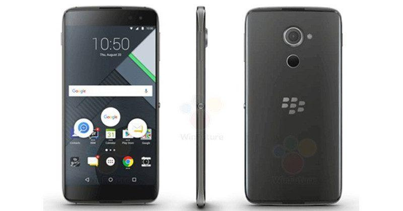 BlackBerry DTEK60 unofficially poses for the camera
