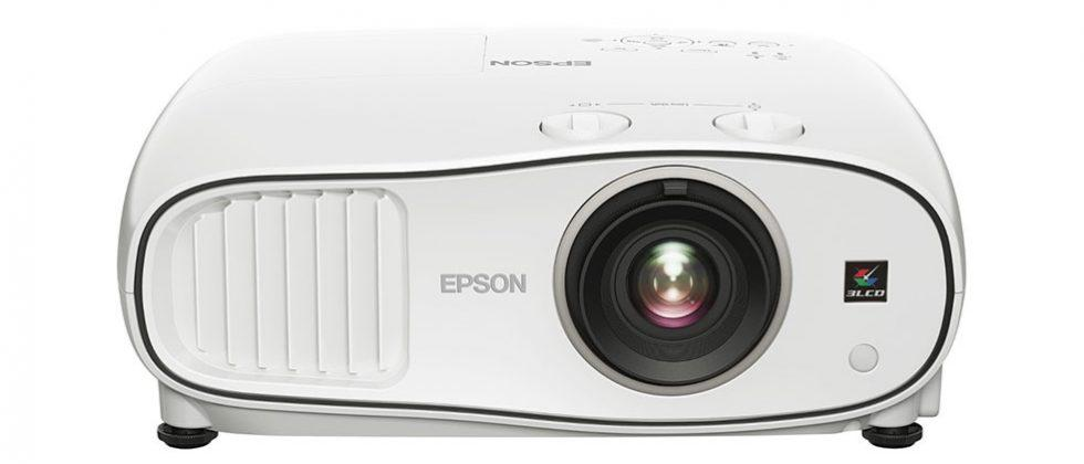 Epson Pro Cinema LS10500 projector has freakin' laser beams