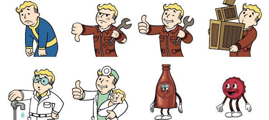 Fallout Shelter offers up new stickers for iOS 10