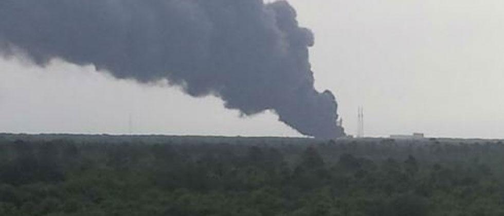 SpaceX rocket explosion destroys Facebook's first satellite