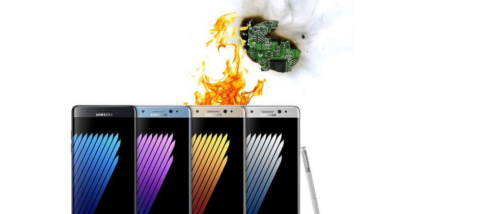 Galaxy Note 7 lawsuits begin: man blames Samsung for burns