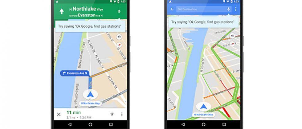 "Google Maps gains new voice commands via ""OK Google"""