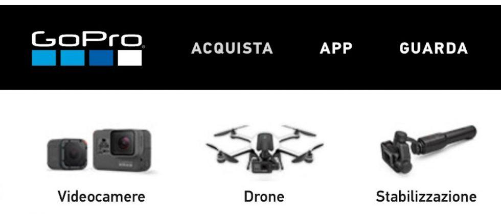 Look closely: This is the GoPro HERO5, Karma drone, and Osmo-rival