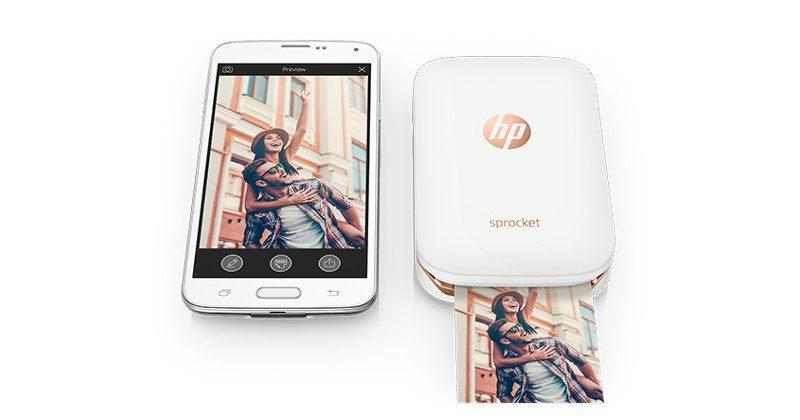 HP Sprocket joins the pocket photo printer party