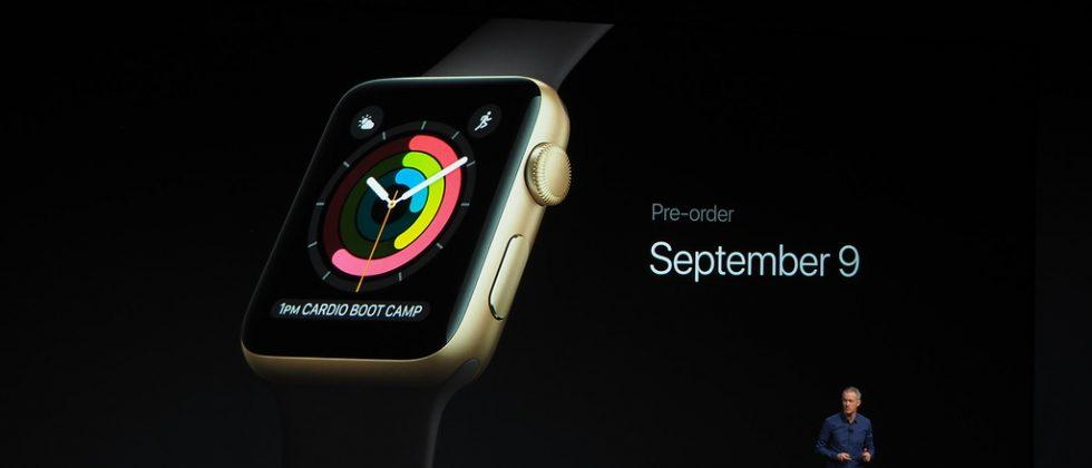 Apple Watch Series 2 release and pricing info revealed