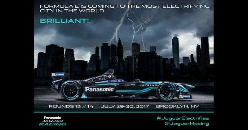 Jaguar welcomes historic New York City leg of Formula E championship