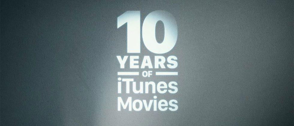 Apple celebrates decade of iTunes movies with special bundles