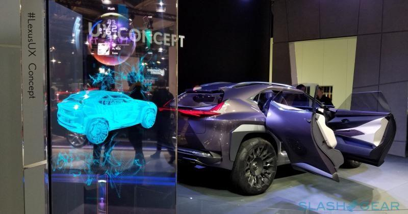 Lexus UX Concept will make you feel like a superhero