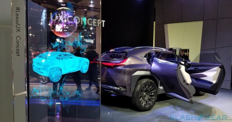 Lexus UX Concept will make you feel like a superhero