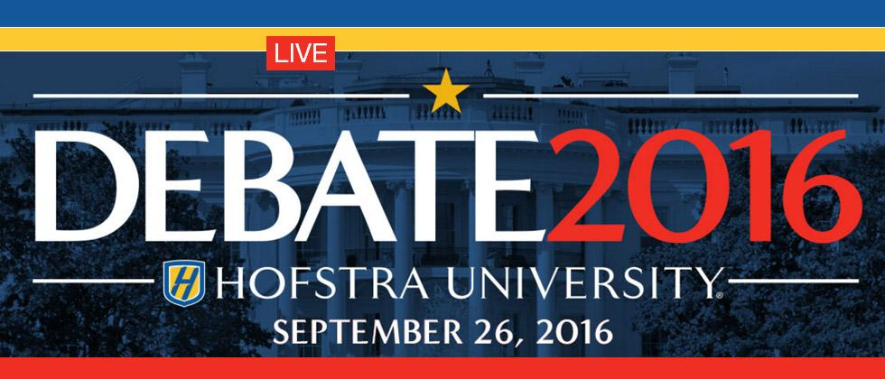 When is the first Presidential Debate? Live Streaming video detailed