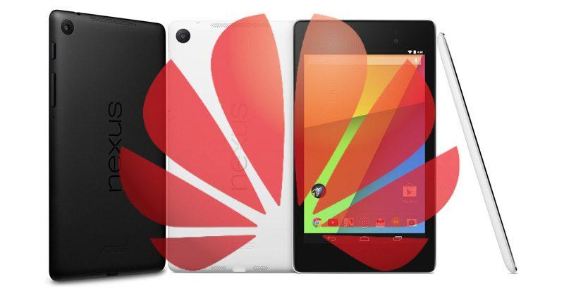 """Huawei """"Nexus 7P"""" leak hints at small but high-end tablet"""