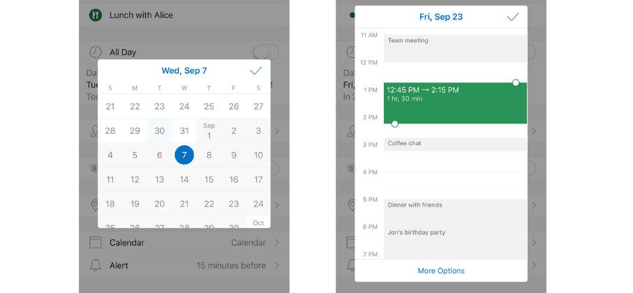 Android Calendar.Outlook Calendar Update Brings New Skype Features Icons To Ios And