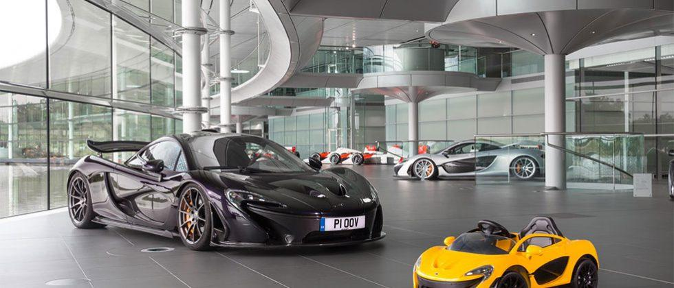McLaren P1 EV hits 3mph in two seconds
