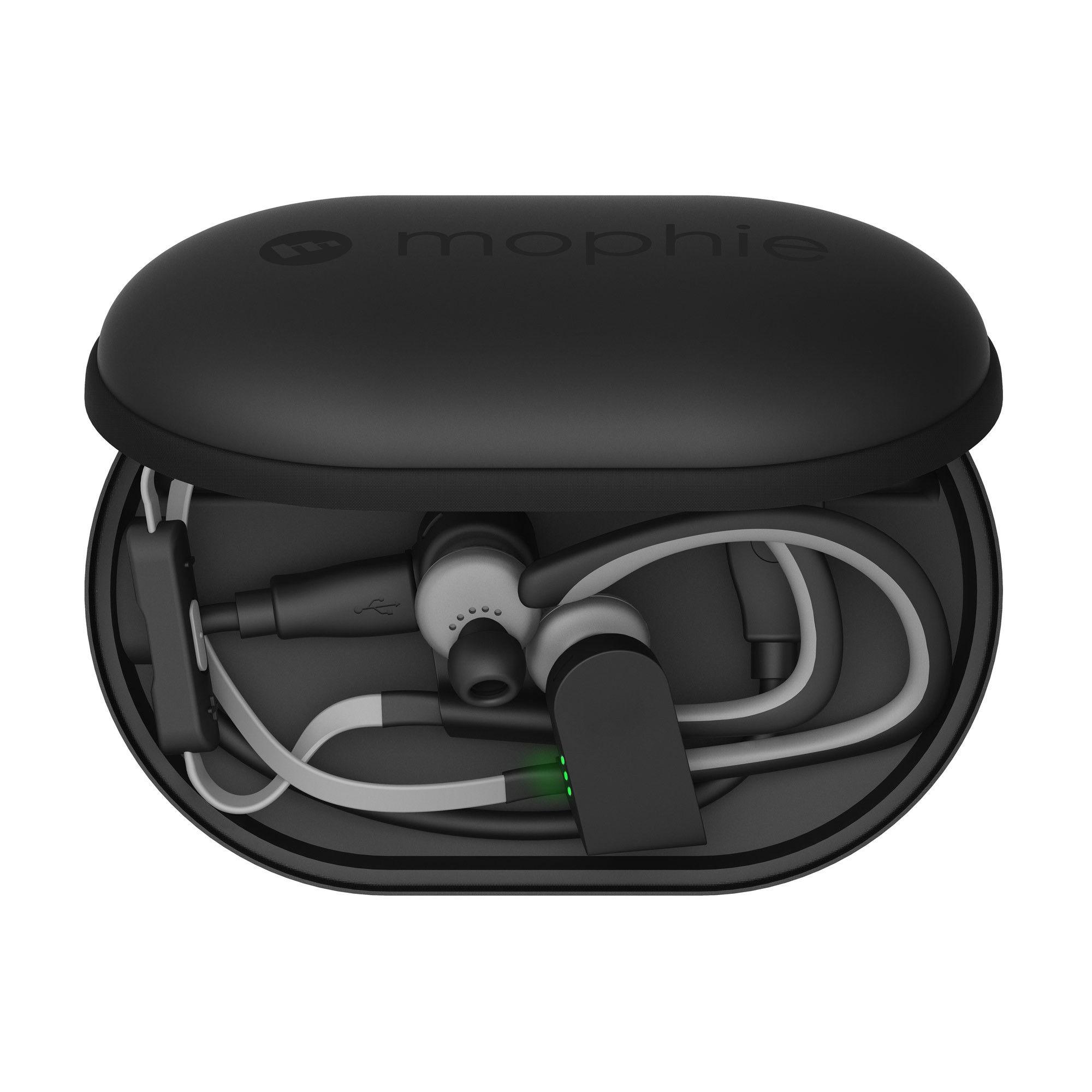 6d60993f982 Mophie Power Capsule is a wireless earbuds charger and safe-case ...