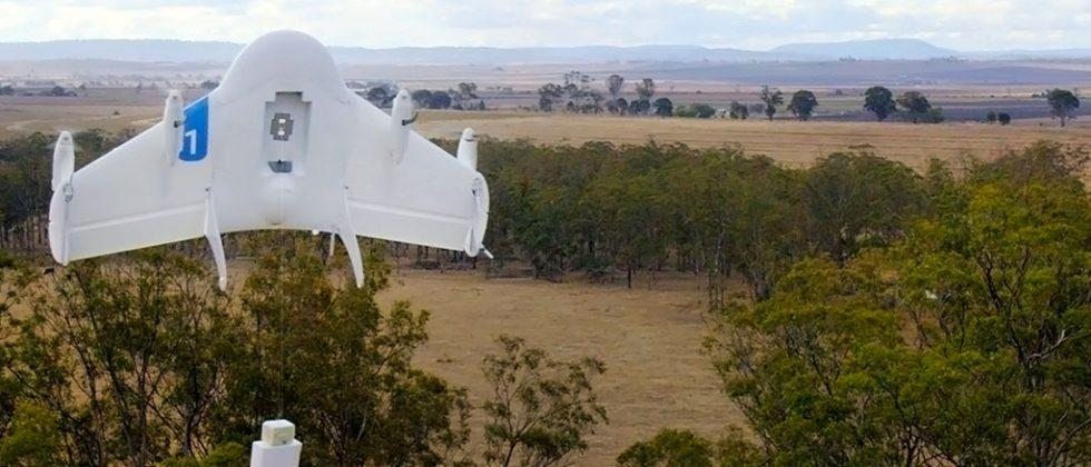 Alphabet drones will come bearing burritos at Virginia Tech