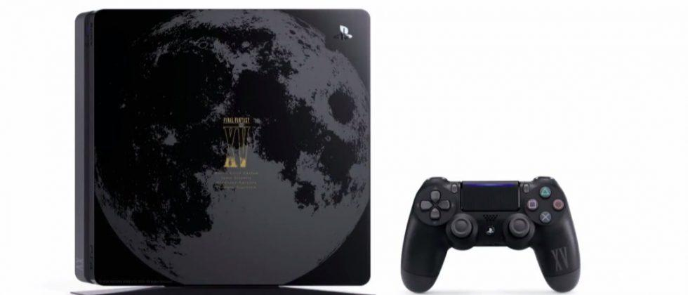 Sony outs special PS4 Final Fantasy XV Luna Edition, new PS Vita colors