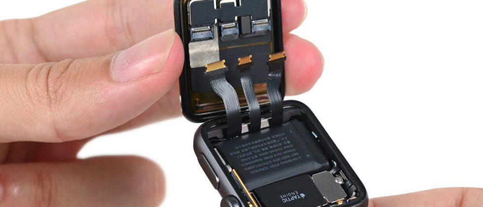 Apple Watch Series 2 teardown reveals bigger battery, water resistant chassis