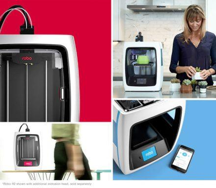 Robo C2 and R2 smart 3D printer are controlled via Robo app