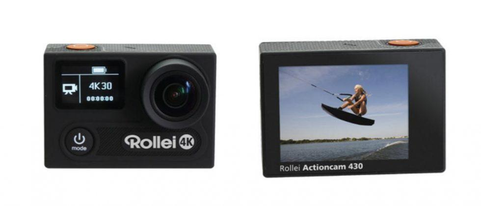 Rollei Actioncam 430 is a small 4K adventure camera