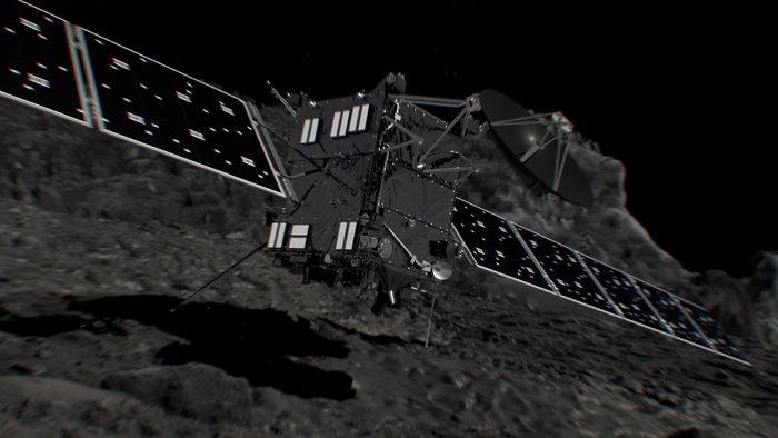 Rosetta makes controlled comet impact to end mission