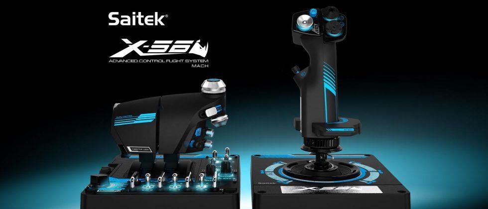 Logitech acquires Saitek, maker of simulation game controllers